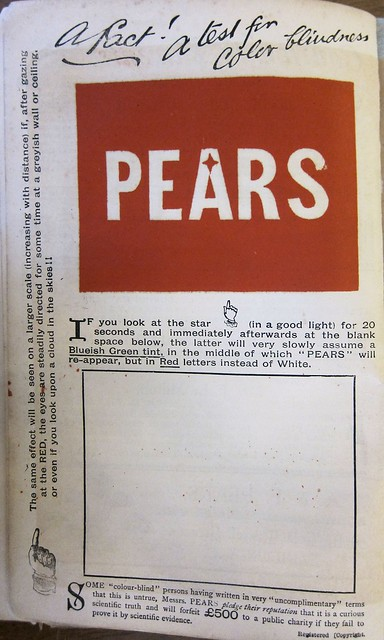 christmas annuals pears ad