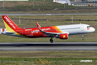 Vietjet A320-214 msn 6341