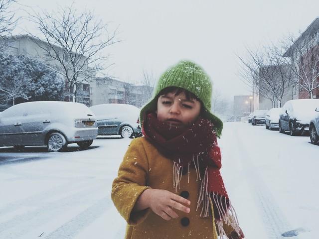 Mode enfant vintage manteau elfi London