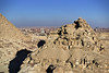 Cairo city from Gizeh pyramids, Egypt