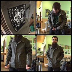 Trying out the new Surly Jacket! This thing is perfect!