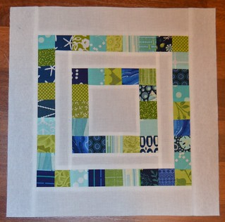 Scrapbuster block for CHEER at do. Good Stitches