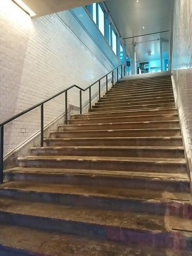 1912年の階段。