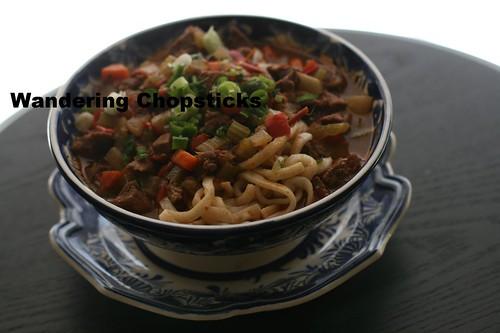 Uzbek Lagman (Lamb Noodle Soup) 17
