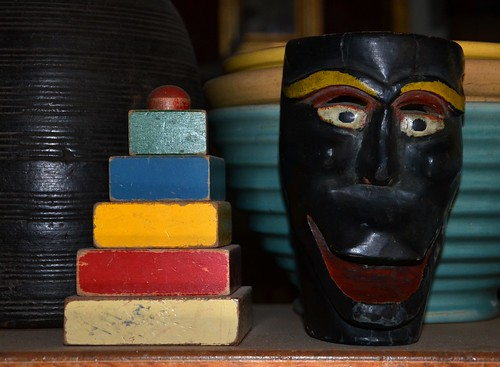Old Mask from Michoacan, Mexico.