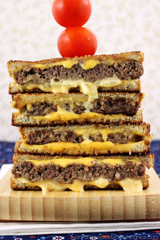 Award Winning 'Grilled Cheese' Burgers