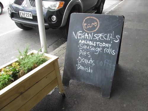 vegan specials
