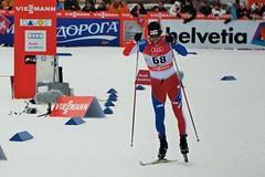 Dušan Kožíšek vyrovnal své výsledkové maximum. Ve sprintu na Tour de Ski skončil desátý.
