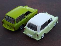 Trabant P50 / 500 Universal c.1960 & 601S Universal c.1985