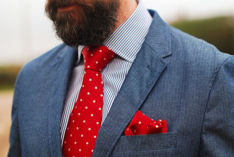 Menswear: Jacket, Shirt and Tie