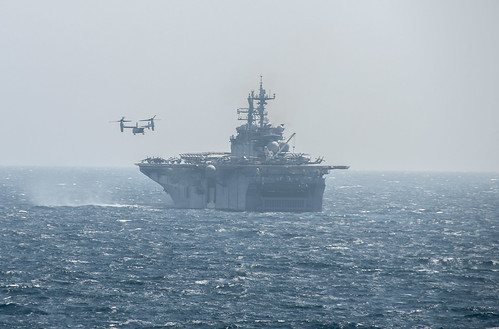Amphibious Squadron Five/11th MEU Transits from U.S. 5th Fleet to U.S. 7th Fleet