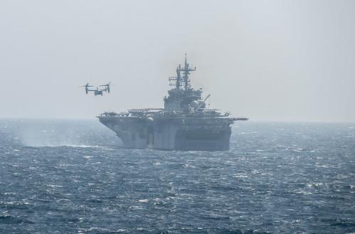Amphibious Squadron Five/11th MEU Transits from U.S. 5th Fleet to U.S. 7th Fleet
