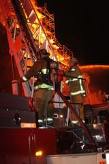 Arson Blaze Destroys Downtown L.A. Apartments Under Construction