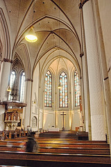 Innere der Hauptkirche Sankt Petri