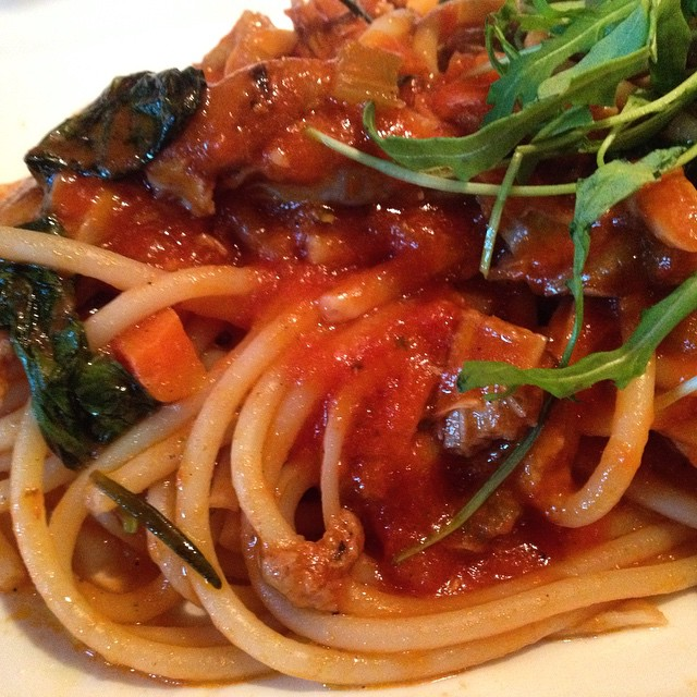 Duck Ragu spaghetti for lunch. Eating Italian food in China. #shenzhen #eats #pasta #foodporn #shenzheneats