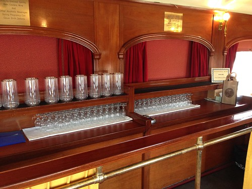 Wine Tasting Car on the Napa Valley Wine Train