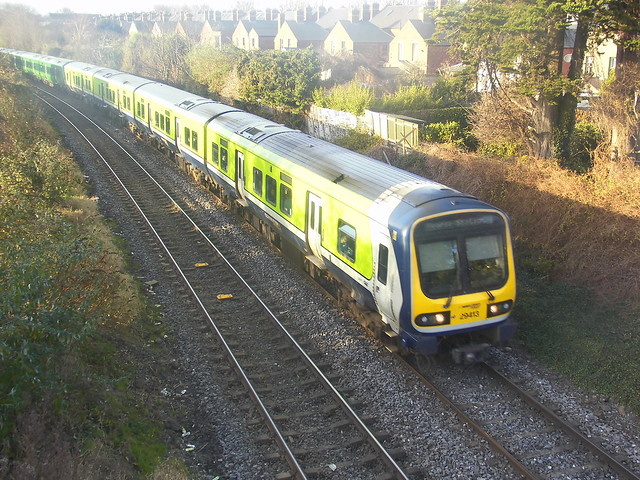 Commuter number 29413 at Claude Road, Dublin