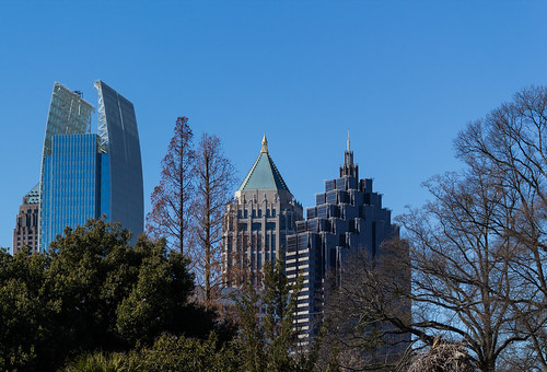 atlanta skyline canon buildings view botanicalgarden outstandingromanianphotographers