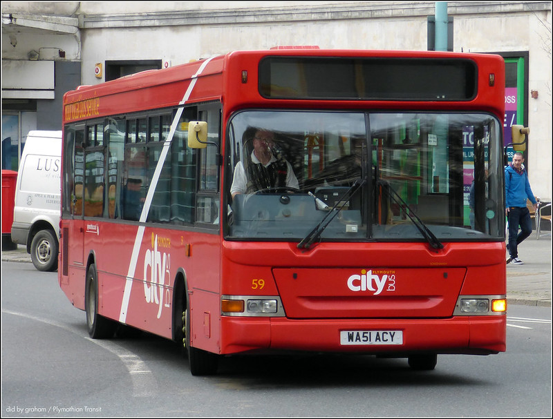 Plymouth Citybus 059 WA51ACY