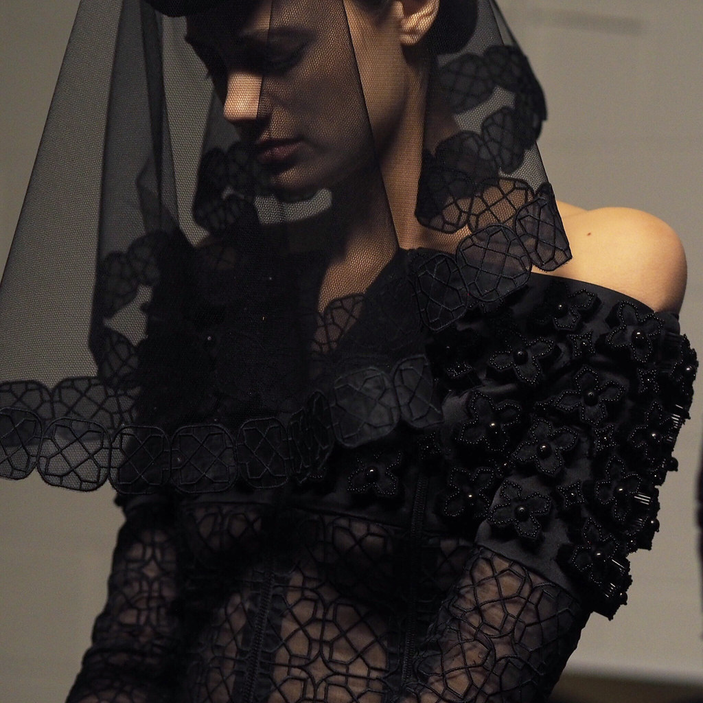 Backstage NYFW by Isabel Martinez for W