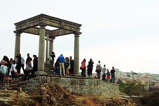 Avila Spain Landmark - The Four Posts
