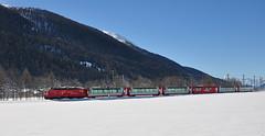 MGB Glacier Express near Ulrichen