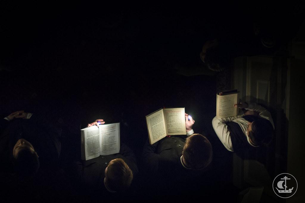 25 февраля 2015, Среда Первой седмицы Великого поста. Великий покаянный канон / 25 February 2015, Wednesday of the 1st Week of Great Lent. Great canon