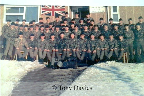 21 Air Defence Battery in the Falklands