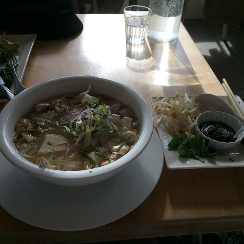 Vegan pho #yegfood