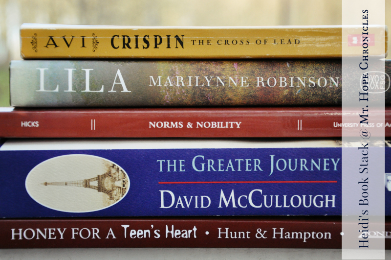 Heidi's Book Stack @ Mt. Hope Chronicles