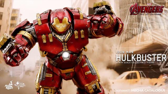 Hot Toys Movie Masterpiece 1/6 Iron Man Hulkbuster