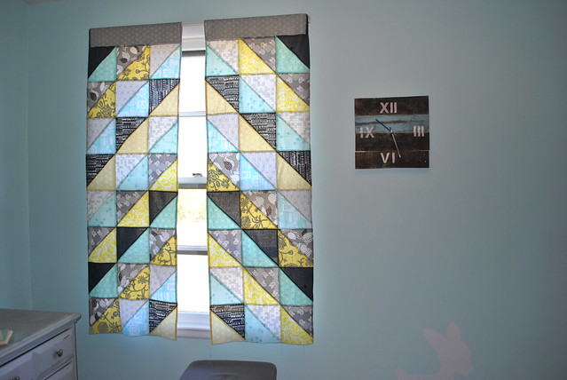 Chevron Patchwork Curtains