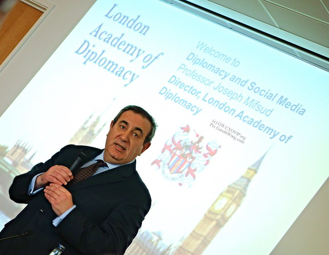 Prof Joseph Mifsud, Dir London Academy of Diplomacy from RAW _DSC3802