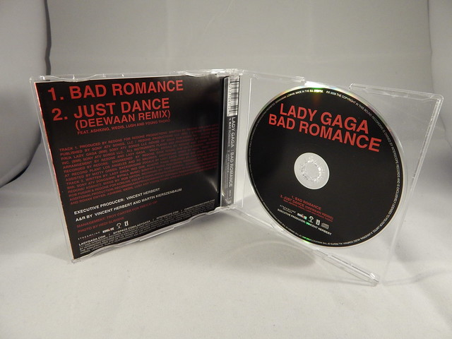 Lady Gaga - Bad Romance (Single) [CD]