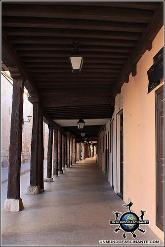 Calle Mayor de El Burgo de Osma (Soria)