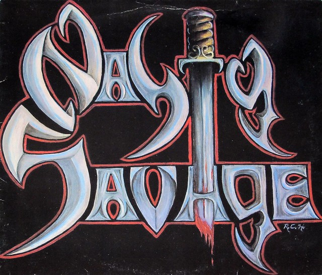 "NASTY SAVAGE S/T SELF-TITLED 12"" VINYL LP"