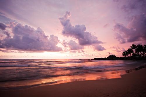 sunset beach sunrise indianocean srilanka ahungalla sirlanka2015
