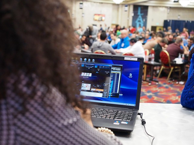 RFG Brittany Bell Plays ClubWPT Bounty Tourney