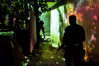 Chasing the homeboys (El Salvador)