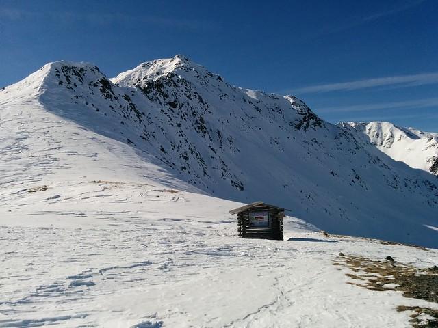 Ausblick vom Kalksteinjöchl, 2.350 m