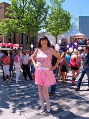 Pink Monday crowd