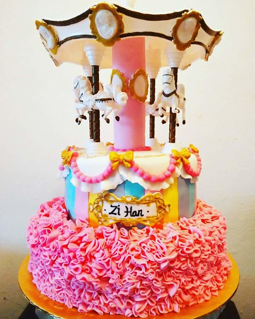 Carousel Cake by Ashley Wong of Angie's Cakes