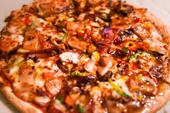 Apricot Chicken Pizza