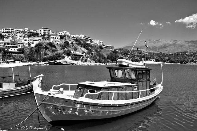 Agia Galini crête island greece
