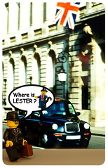 Where is Lester ? - Taxi