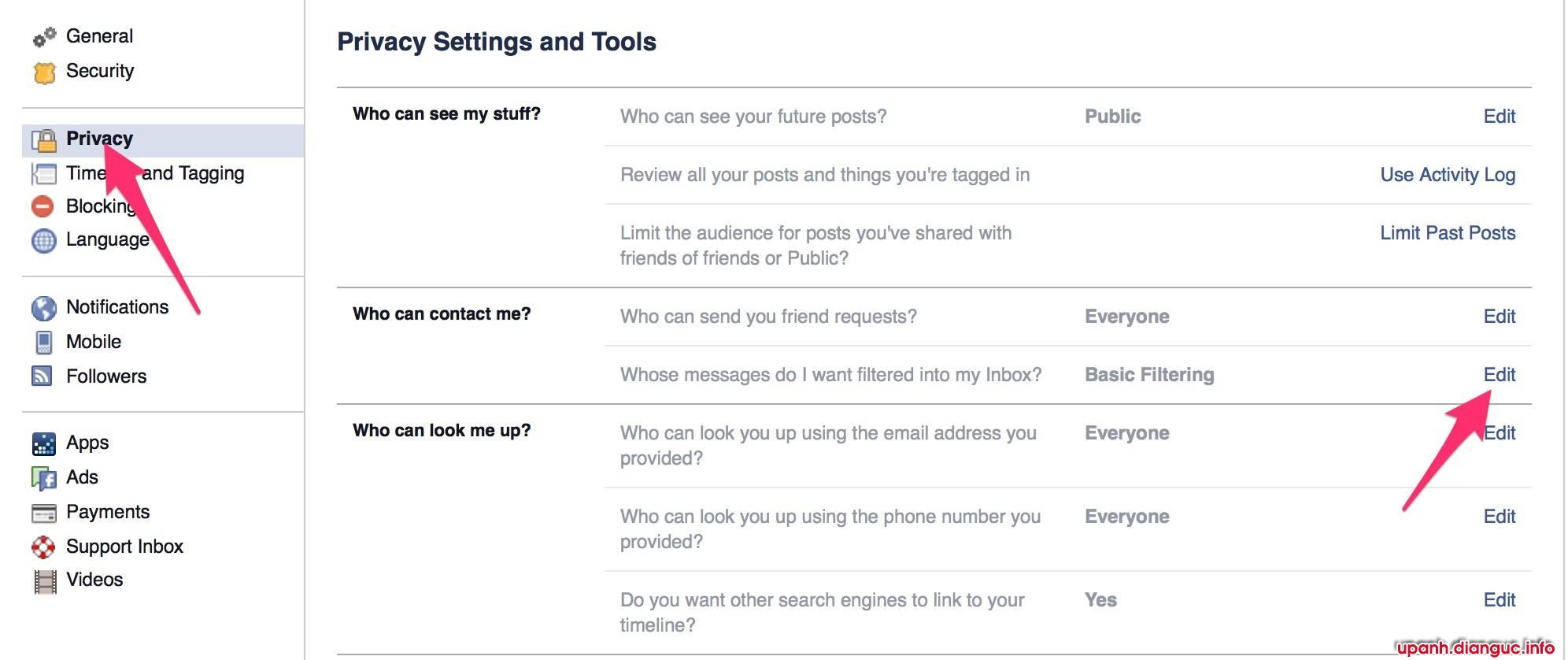 chặn tin nhắn bán sim trên facebook