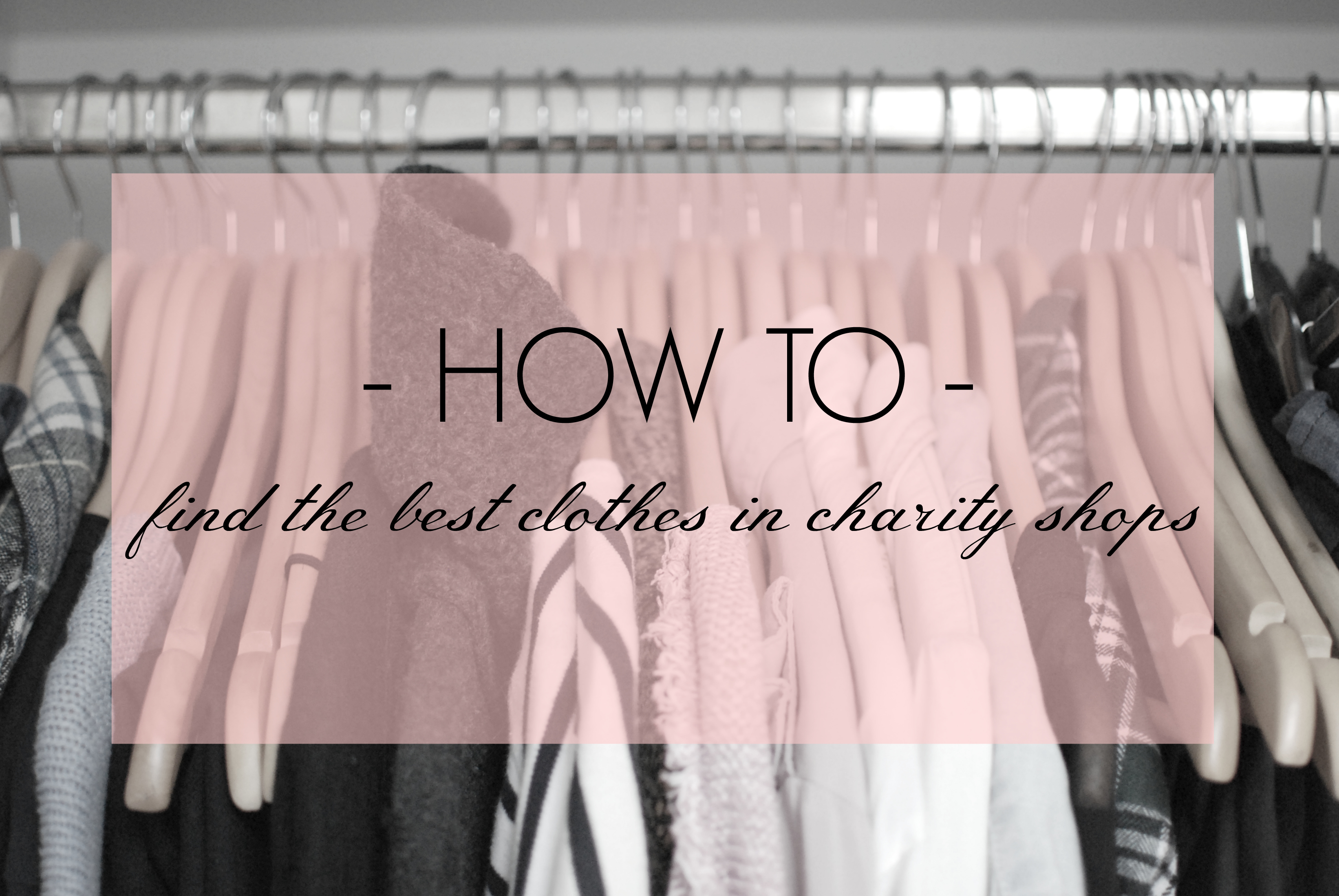 5 tips for charity shopping thrift shopping op shopping