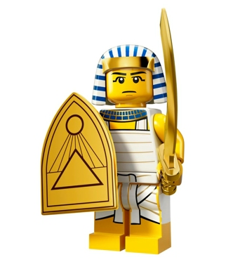 Minifigures s13 Egyptian Warrior