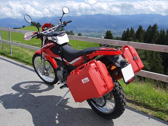 Bregenzerwald Mountains seen from St. Anton