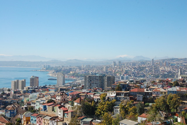 Views from Valparaíso, Chile